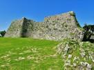 三の郭城壁石垣…