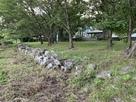 公園の石垣