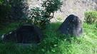 愛姫誕生の地石碑…