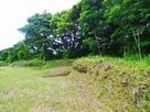 土塁◆本丸