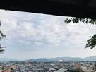 本丸跡北側からの眺望…