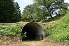土橋のトンネル…