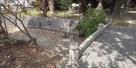 清洲城北側の堀跡…