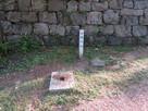 御鐘門跡礎石