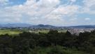 大森城から眺める福島市街