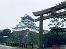 八坂神社から天守閣をのぞむ…