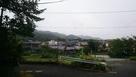 佐保川越しに眺める東大寺と若草山…