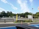 お城前の無料駐車場です…