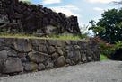 本丸と二の丸の間の石垣…
