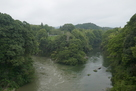 牛渕橋から遠望…