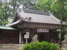 神足神社境内の社殿…