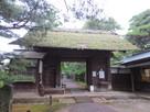 旧下屋敷(清水谷御殿)の門…