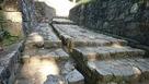石垣と排水溝