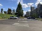 道後公園西口駐車場…
