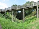 木橋と堀切