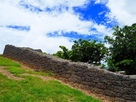 東側の城壁