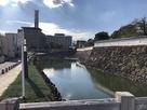 遊亀橋から見た堀…