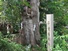 旭神社に建つ石碑…