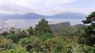 天筒山城からの眺望…