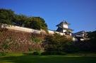 百間堀からの石川門…