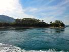 潮流体験での能島城