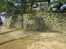 天守下の石垣