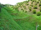 西の丸下の畝堀…