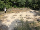 天主台跡 礎石