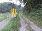 展望台への道標