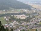田口城展望台からの遠景…