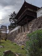 石垣上の御湯殿と伏見櫓…