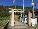 表米神社 登城口…