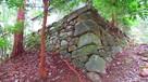 松平廟の下の石垣…
