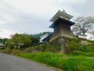 岩村藩主邸の太鼓櫓…