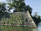 宝形櫓の石垣