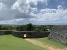 中城郭から海の眺め…