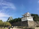 西南隅櫓側と天守閣。…