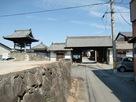 西願寺の移築城門…
