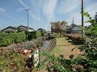 高須小学校東側の堀跡…