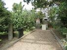 城址の赤城神社…