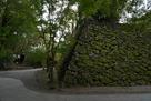 本丸黒門跡付近の石垣