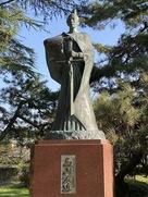 高山右近公銅像…