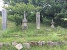 凌雲寺跡にある大内義興の墓…