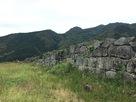 凌雲寺跡の石垣…