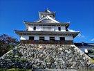 琵琶湖側からの天守