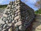 本丸 東虎口の石垣…