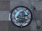 マンホールの尼崎城