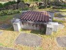 勝龍寺城 本丸の井戸跡…