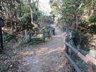 本丸南にある土橋