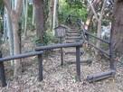 二の丸西側の櫓台